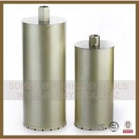 high quality 1-1/4UNC thread 450mm concrete diamond core drill bit for reinforced concrete