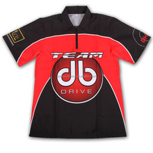 100%polyester fabric dye sublimation men's golf polo shirts