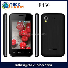 E460 3.5''capacitive touch screen Spreadtrum6531 GPRS download cheap mobile phone