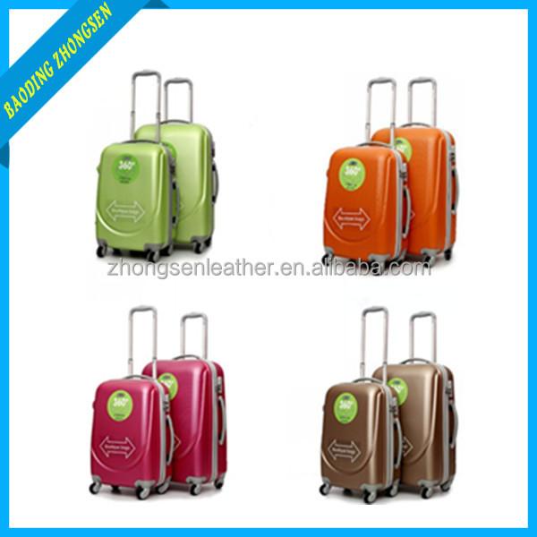Customized 3pcs trolley luggage bag