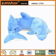 2015 new design fish toy/plush diy animal shaped pillow/shark fish toys