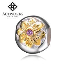 2015 Top Fashion ebay sterling silver jewelry cheap silver jewellery online flower beads 925 silver new york