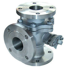 Carbon steel ball valve electric actuated 3 way ball valve