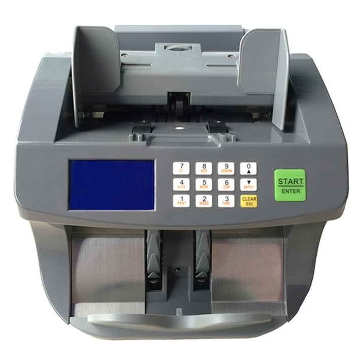 Деньги Счетная Машина Счетчик Банкнот Наличной Валюты Значение Mix Счетчик Валюты