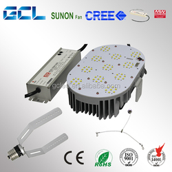 Meanwell driver 150W LED retrofit kits replacing street light and high bay light