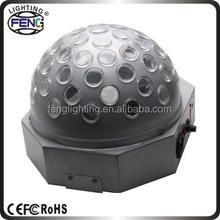 Sahne efekti led kristal sihirli disko topu, usb led sihirli disko topu ışık 12v