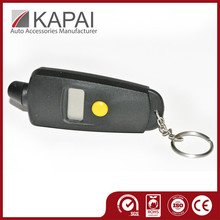 Premium Product Certified Automotive Digital Mini Digital Talking Tires Gauge Keychain