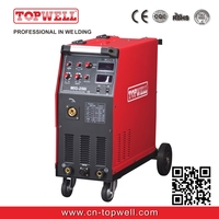 inverter mig welder 4-rolls wire feeder multi process MIG-300i welding machine