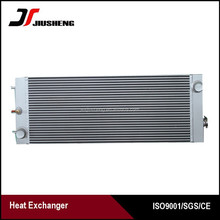 Aluminum plate bar E320D water radiator for excavator