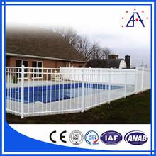 Black Aluminum Metal Fence For Pool