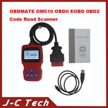 2015 New arrival for OBDMATE OM510 OBDII EOBD OBD2 Code Read Scanner