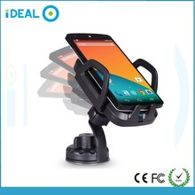 Best Quality for 3 Coils Qi Wireless Charger Wireless Car Charger
