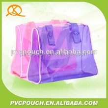 OEM sale high quality pvc clear plastic shoulder bag tote bag fashion