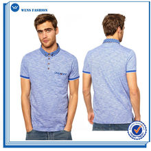 Top Quality Fashion Style 2015 New Design Red White And Blue Polo Shirts