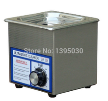 Free Shipping By DHL 1PC PS-08T AC110/220V Digital Ultrasonic Cleaner 60w 40khz 1.3L For Jewely ,Gleases ,Watches Free Basket