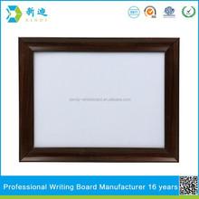 Framed metal whiteboard good quality