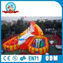 Giant Skycity Inflatable Amusement Park/ Inflatable Fun City