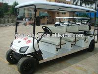 Street legal electric car buggy 8 seater|AX-B9+3