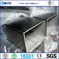 ASTM A500 GRADE A/GRADE C ERW SQUARE STEEL PIPE WITH GALVANIZED COATING