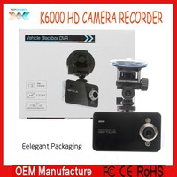 "2.7 "" Display 1080P Full HD Car black box, car dvr, car camera K6000"