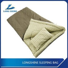 100% cotton flannel waterproof sleeping bag