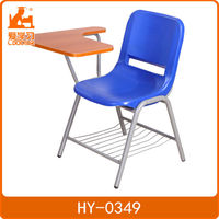 Commercial modern school chair with writing board