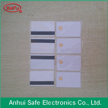 Chinese factory passive smart chip card rfid cards with magnetic stripe