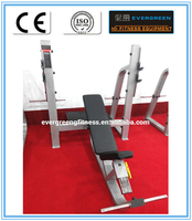 High quality Olympic Incline Bench / equipment gym / fitness equipment dimensions for sale