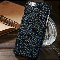 Luxury Hot Selling For iPhone 6 PC Case, Pattern Phone Case For iPhone 6 / Plus TPU Case, Flower Pattern Case Cover For Apple 6