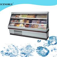 snack bar open display sandwich refrigerator