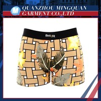 top quality custom printed men's briefs man underwear