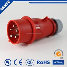 2015 Newest Design 3P+E+N Economic Industrial Waterproof Plug And Socket