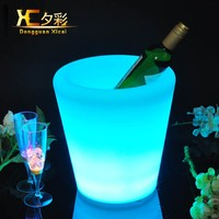 Small Champagne Cooler Bar Table Wine Holder Pub Vodka Ice Bucket
