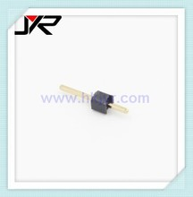 2.0mm pitch 90 degree 1 pin header double row double plastic PBT pin header, male connector 4p 6p 8p 10p 12p 14p 16p 18p 20p 26p