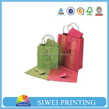 2015 China Factory Professional Custom Printed Handmade New Arrival shoes shopping paper bag