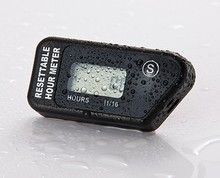 RL-HM016H Maintenance Resettable LCD Hour Meter for Outboard Engine Yacht Marine Motorcycle