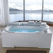 2014 Air and Whirlpool massage bathtub ,LED Jet Whirlpool bath