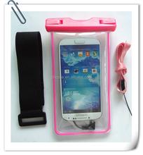 Factory Price PVC Waterproof Cell Phone Bag
