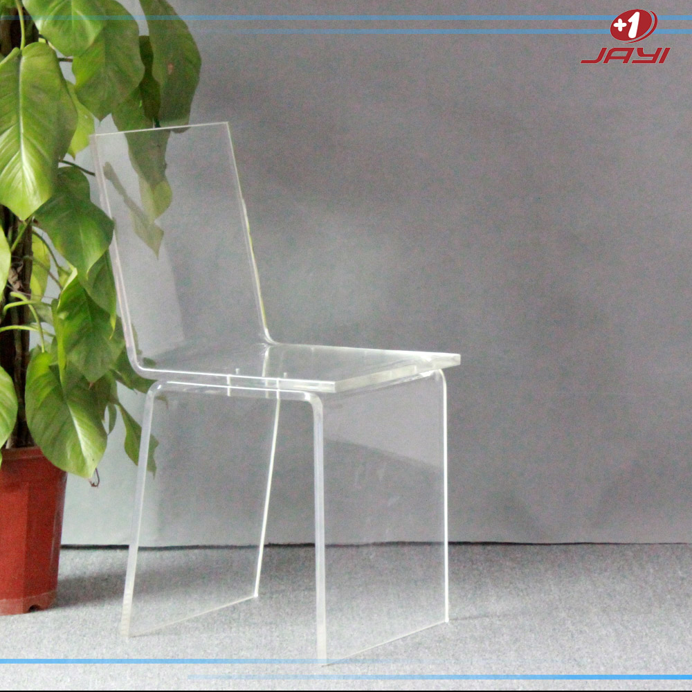 Jayi Acrylic Furniture Lucite Vanity Chair Clear Perspex
