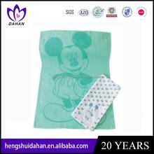 100% cotton custom tea towel printing in silk screen