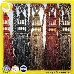 Shiny Diamonds Flower Curtain For Curtain Decorative Polyester Tassel Drapery Tapestry Mosquito Net