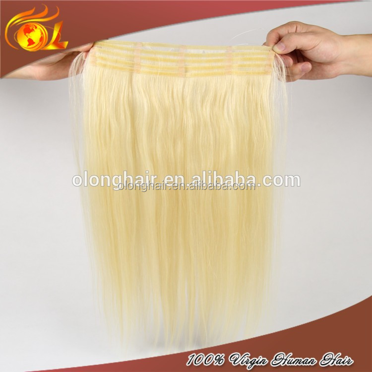 Cheap Hair Extensions On A Wire Triple Weft Hair Extensions