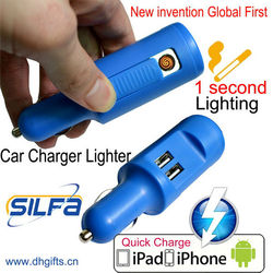 car fm transmitter bluetooth usb charger 2 USB charger car with lighter
