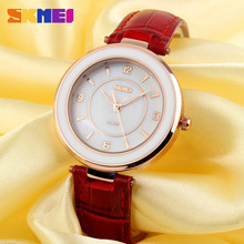 vogue watch Japan Quartz Movt watches for lady ,Eco-friendly leather straps