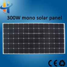 Low Price High Efficiency 300w Solar Panel for Solar Power System