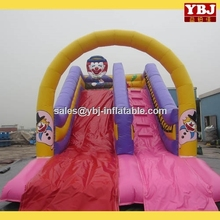 2016 china NEW design good quality cheap popular inflatable slip and slide