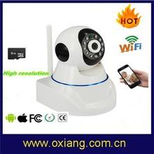 Best Selling Wireless Audio Detection Alarm HD 720P Wifi IP Camera /wireless hidden ip camera