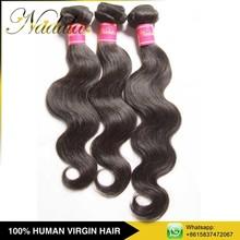 Alibaba Express China Trio Brazilian Body Wave Virgin Human Hair