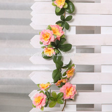 170 CM Artificial Azalea Flower Vine Fake Flowers Hanging Wholesale Factory Price From China