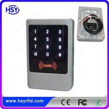 RFID door access control system with touch keypad and IP65 waterproof
